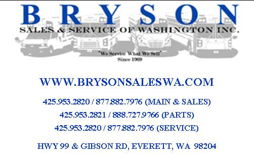 Bryson Sales and Service of WA